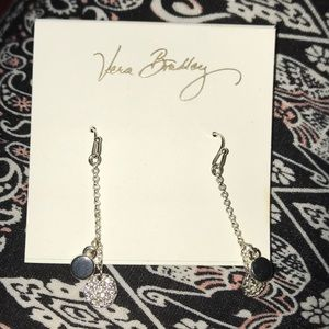 Vera Bradley drop earrings